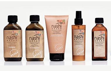 Gamme de produits Nashi Argan